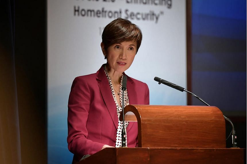Second Minister for Home Affairs and Manpower Josephine Teo said the Government will lead the push for technology and innovation, and will provide support for industry players.
