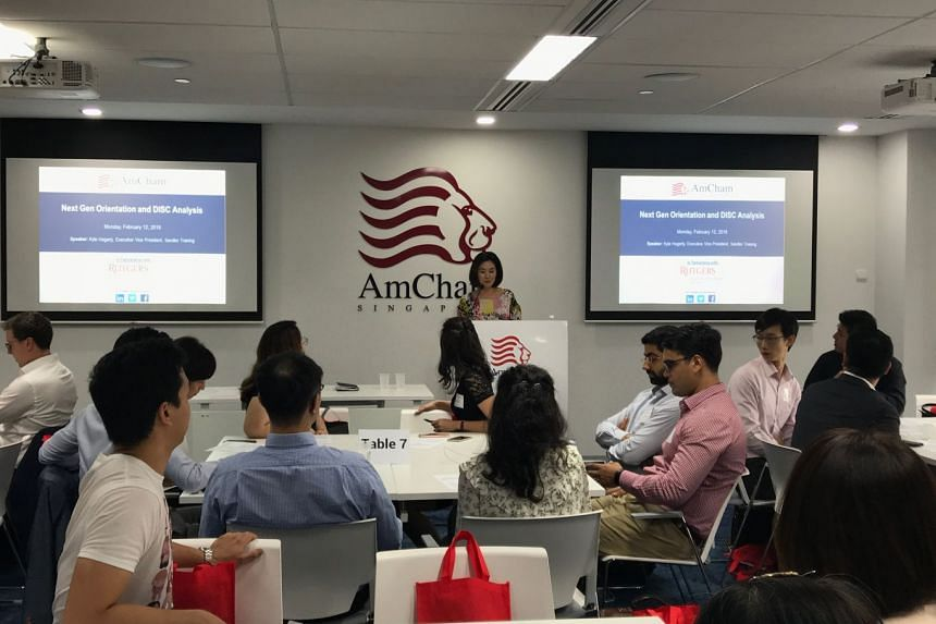 Welcome address by American Chamber of Commerce (AMCHAM) Executive Director, Ann Yom-Steel.