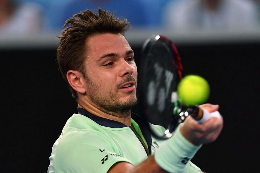 Wawrinka (above, in a file photo) is struggling to regain top form after a pair of summer knee operations.