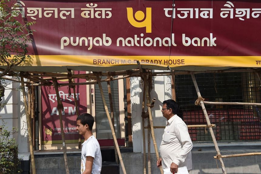 Shares in India's Punjab National Bank closed 9.8 per cent lower in a Mumbai market that fell 0.4 per cent, giving the bank a market capitalisation of US$5.5 billion.
