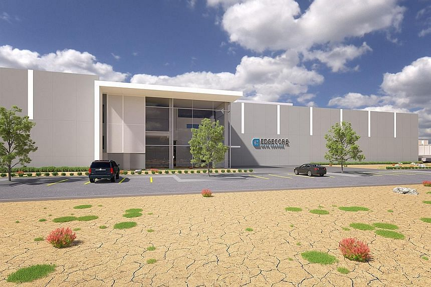 An artist's impression of the EdgeCore data centre in Reno, Nevada.