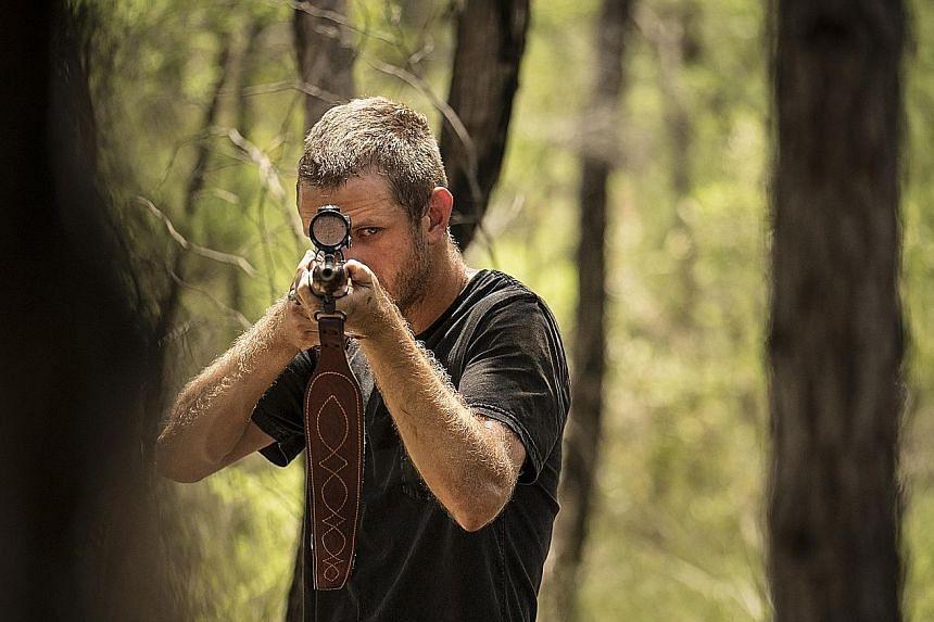 Aaron Glenane stars in Killing Ground.