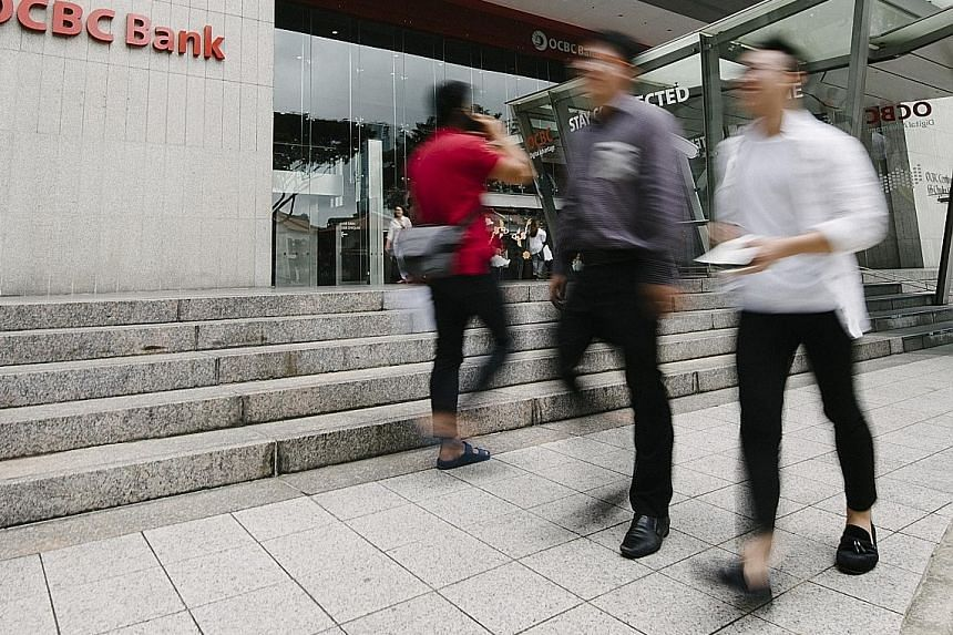 OCBC posted broad-based growth across its business segments, lifted as well by strong performance in its investment portfolio. The bank proposed a final dividend of 19 cents a share, up from 18 cents last year.