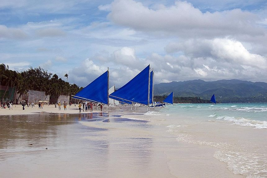 The 51 establishments on Boracay were found to have no wastewater treatment facilities and were dumping sewage into the sea.