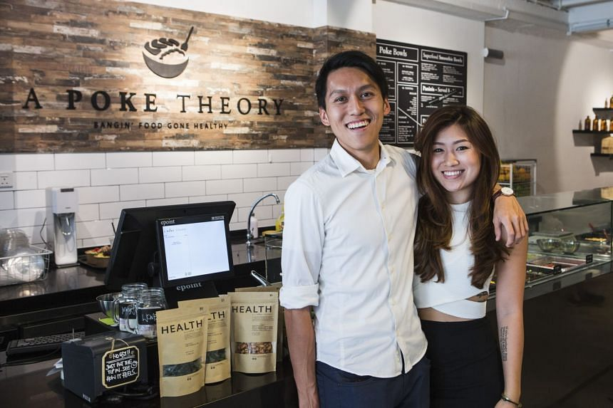 To the siblings, Mr Joey (left) and Ms Vanessa Lee (right), direct communication with customers is the strongest tool for thriving amid the challenges of the F&B scene.