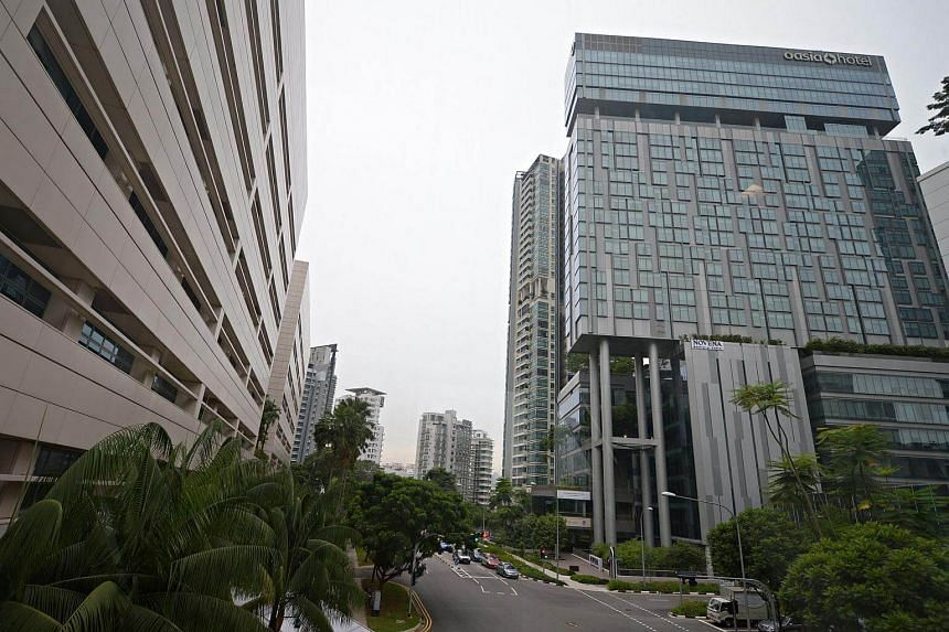 Far East H-REIT has a portfolio of 12 Singapore properties consisting of 8 hotels and 4 serviced residences which include Oasia Hotel Novena (above) and Village Hotel Albert Court.