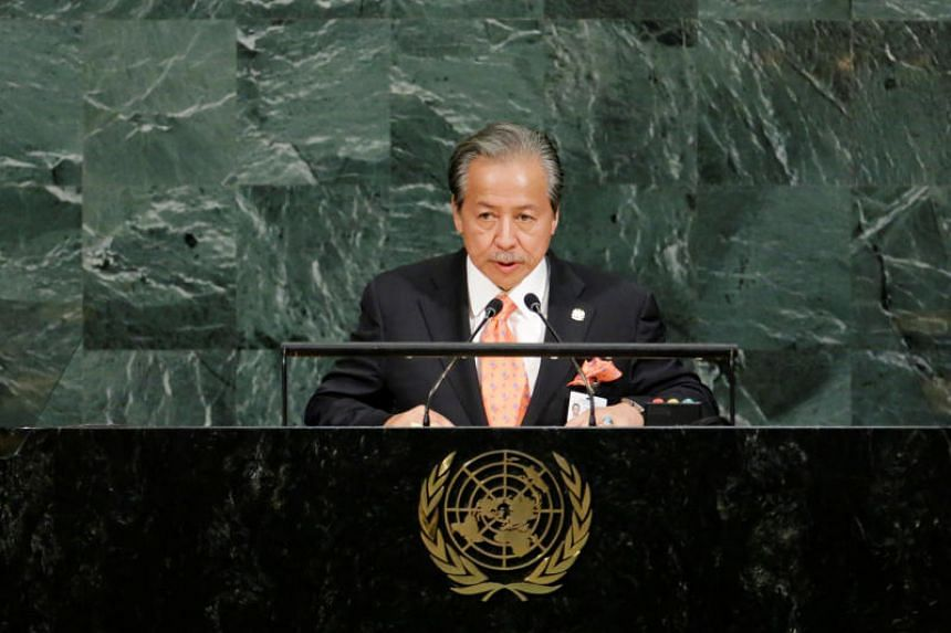 Foreign Minister Anifah Aman said Malaysia, as host of last week's international forum on urban development, had no choice but to allow all UN member states to take part.
