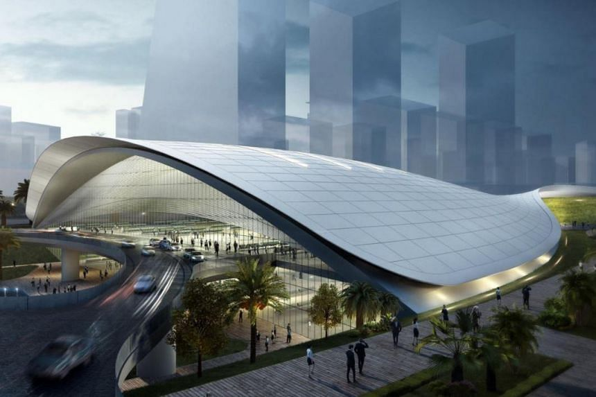 The Cross-Border Railways Bill will support the future Singapore-Kuala Lumpur High-Speed Rail (pictured), which is targeted to be ready by the end of 2026, and the Singapore-Johor Rapid Transit System link, which is set to open by the end of 2024.