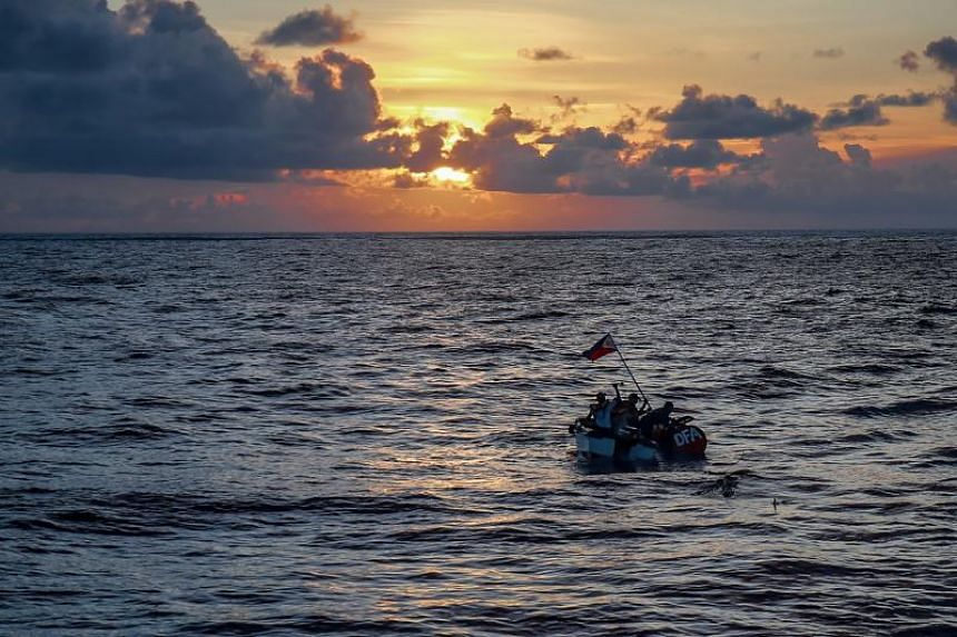 The United Nations recognised the Philippines' exclusive economic rights to the underwater landmass - known formerly as Benham Rise and renamed Philippine Rise - in 2012 as part of its continental shelf.