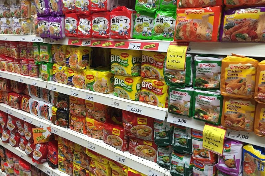 """Consuming """"ultra-processed"""" food such as instant noodles could increase the risk of certain types of cancers, said scientists."""