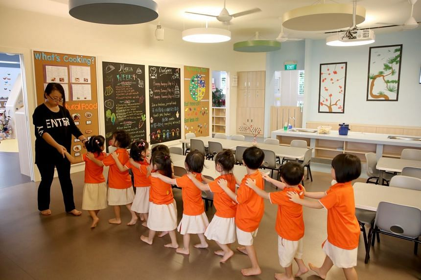 The median full day fees for childcare rose from $720 a month in 2011 to $883 in 2017, according to figures provided by NTUC.
