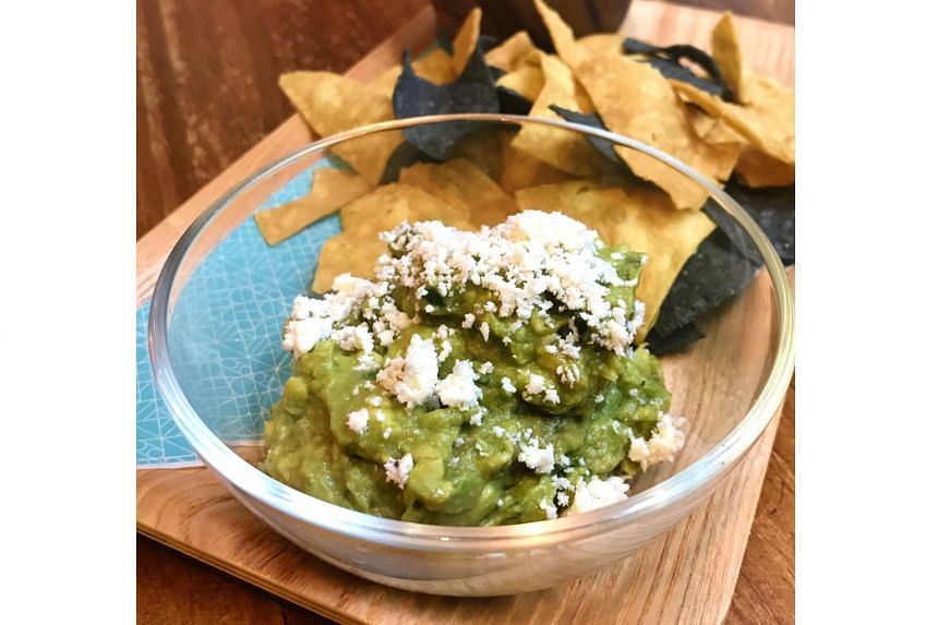 Chips, Guac and Salsa.