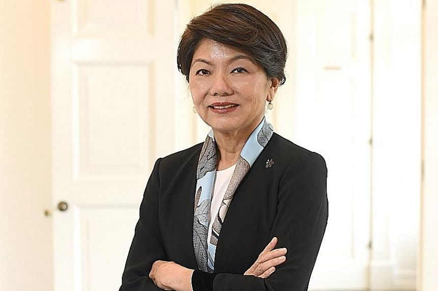 """An investment banker for 35 years, Ms Tracey Woon says: """"Women do invest very differently from men - they think not just about generating a financial return."""" They do not think only about US Treasuries; they are also interested in World Bank bonds an"""
