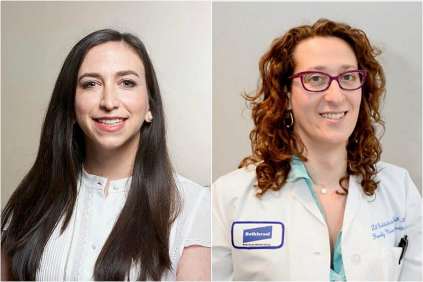 Dr Tamar Reisman (left) and nurse practitioner Zil Goldstein say the case illustrates that, in some circumstances, modest but functional lactation can be induced in transgender women who did not give birth or undergo surgery.