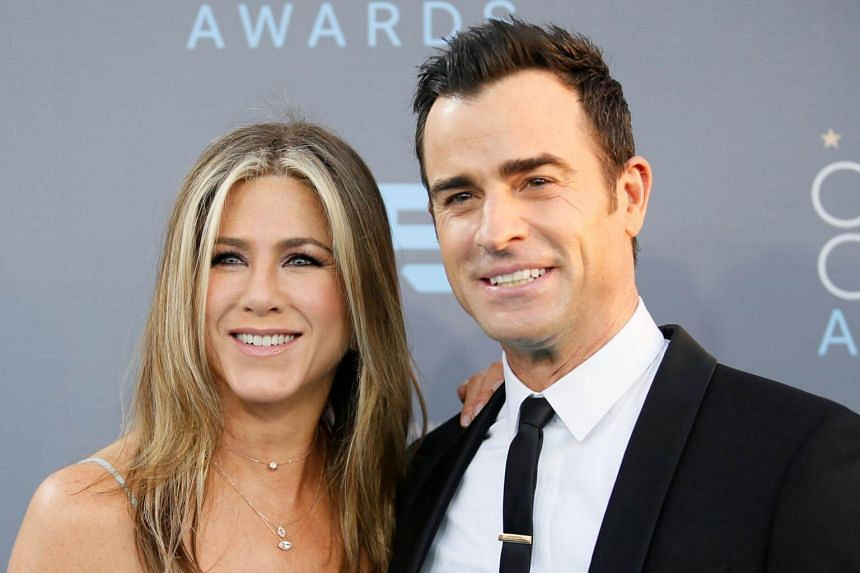 Jennifer Aniston and Justin Theroux at the 21st Annual Critics' Choice Awards, on Jan 17, 2016.