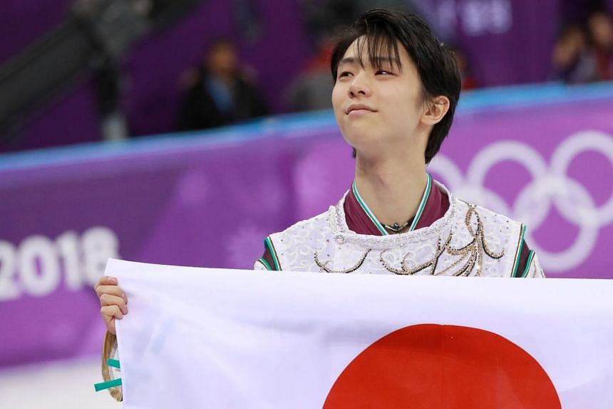 Yuzuru Hanyu became the first man to win back-to-back Olympic titles in more than six decades, despite making errors in his free skate.