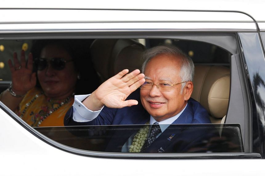 Malaysian Prime Minister Najib Razak gave details of new government projects in Langkawi on Feb 17, 2018.