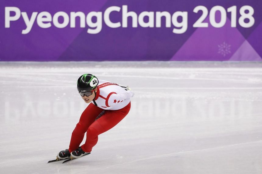 Cheyenne Goh clocked 2 minutes 36.971 seconds and did not qualify for the semi-finals.