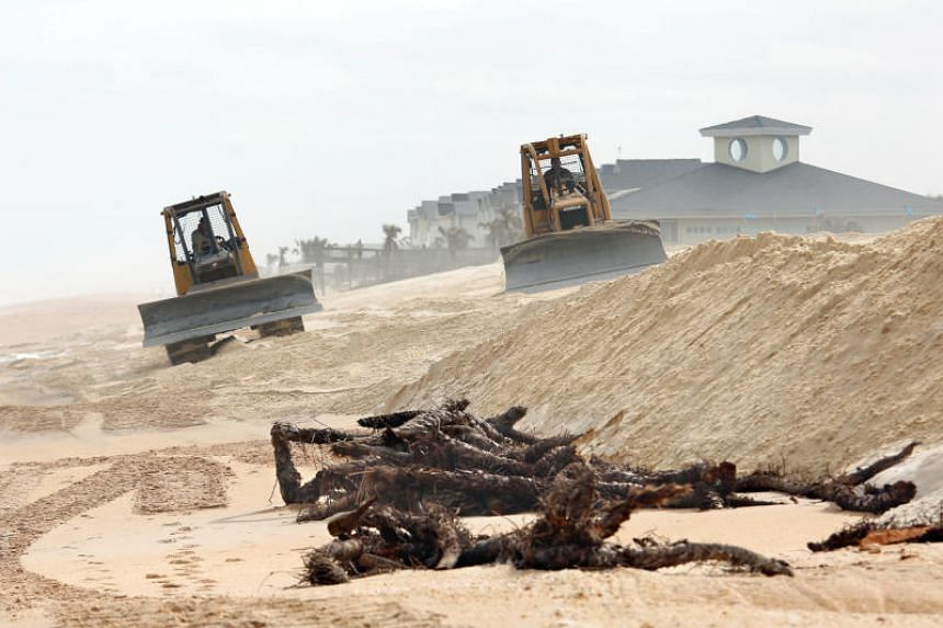 Costs of so-called beach renourishments are measured in hundreds of millions of dollars, but the effort is crucial for Florida's US$67 billion tourism industry.