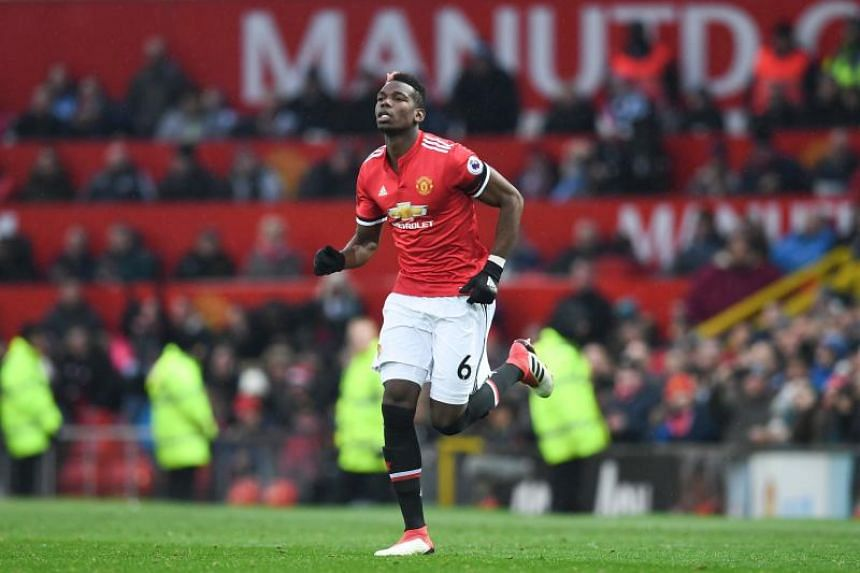 Manchester United midfielder Paul Pogba has made nine assists and scored three goals in 17 league matches this season.