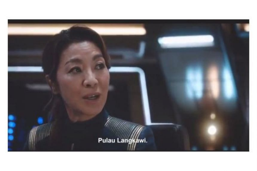Langkawi has been established as the place where Star Trek Discovery's Captain Philippa Georgiou, played by Malaysian actress Tan Sri Michelle Yeoh, grew up.