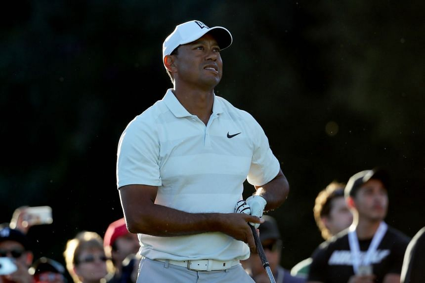 Tiger Woods had a 36-hole total of six-over 148 - four shots outside the projected cutline.