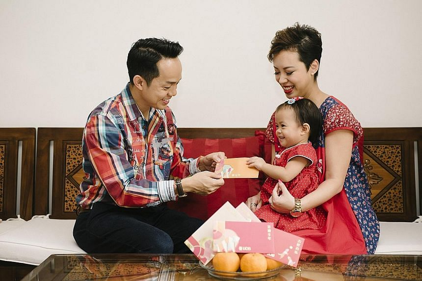 Mr Amos Lim, 37, and his wife Alvina Tiang, 34, have started saving for their two-year-old daughter Aleia's future via a mix of financial instruments.