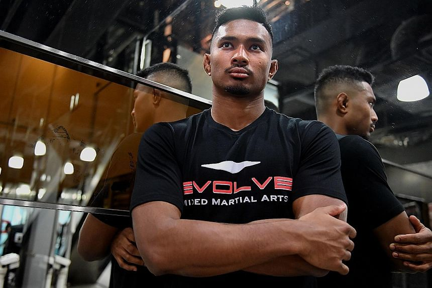 Singaporean MMA fighter Amir Khan has a six-bout winning streak, but One Championship chairman and chief executive Chatri Sityodtong said the result against Russia's Timofey Nastyukhin will shape his future.