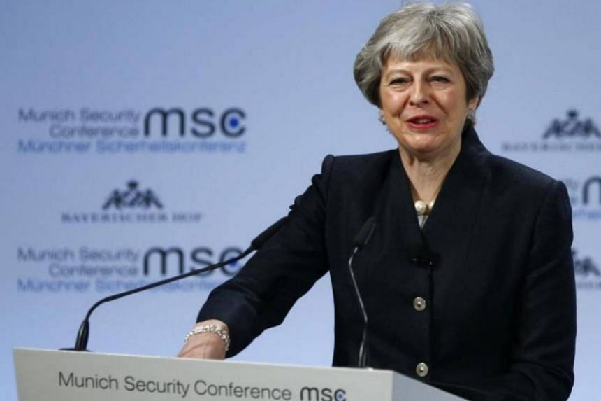 British Prime Minister Theresa May has said that she was unconditionally committed to European security.