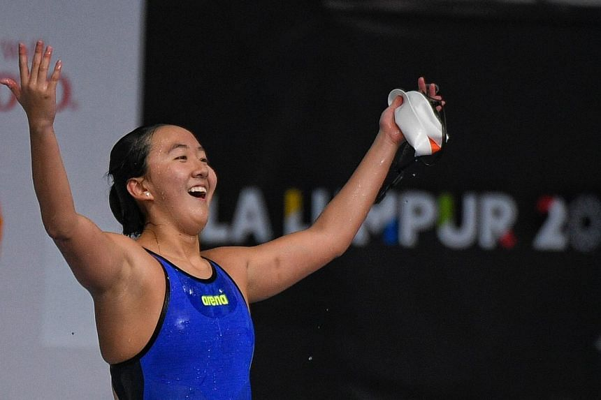 Swimmer Quah Jing Wen won the 200-yard butterfly event at the South-eastern Conference (SEC) Championships at the Rec Center Natatorium in Texas on Feb 18, 2018.
