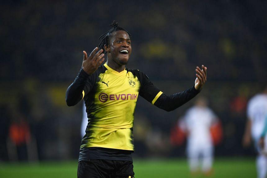 Batshuayi has been on fire since joining Borussia Dortmund on loan in January.