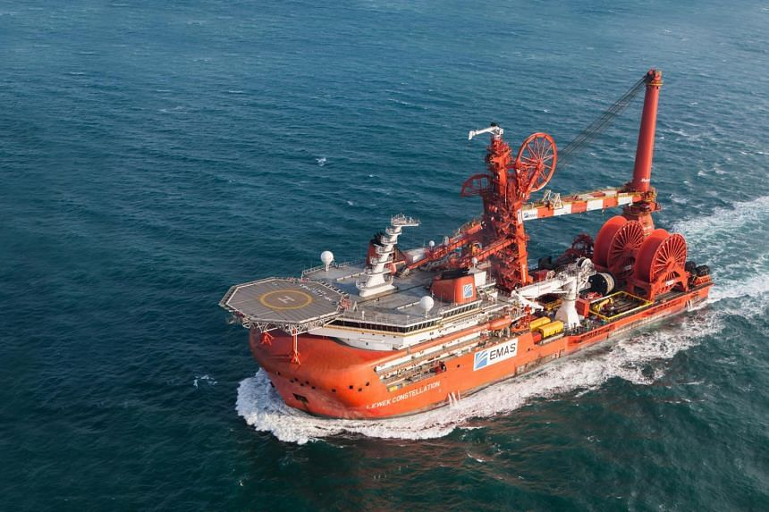 Emas Offshore (vessel Lewek Constellation pictured) and its subsidiaires have obtained the High Court's leave to convene their respective creditors' meeting on Feb 15, 2018.