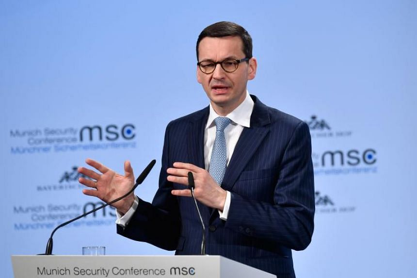 """The Polish government said that comments made by Polish PM Mateusz Morawiecki about """"Jewish perpetrators"""" were not meant to deny the Holocaust, but a sincere call for open discussions about the period."""