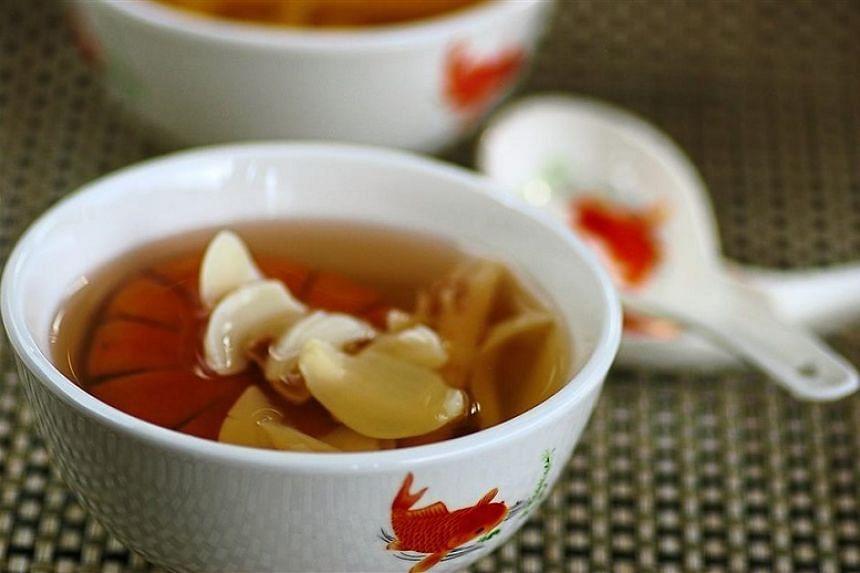 Healthy Herbal Sweet Soup.