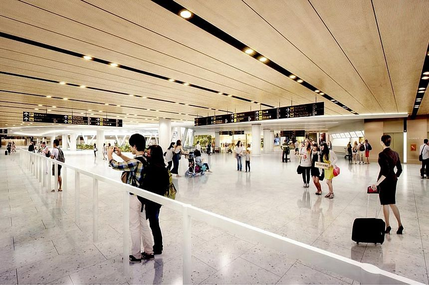 """An artist's impression of the new """"meeters and greeters"""" hall."""