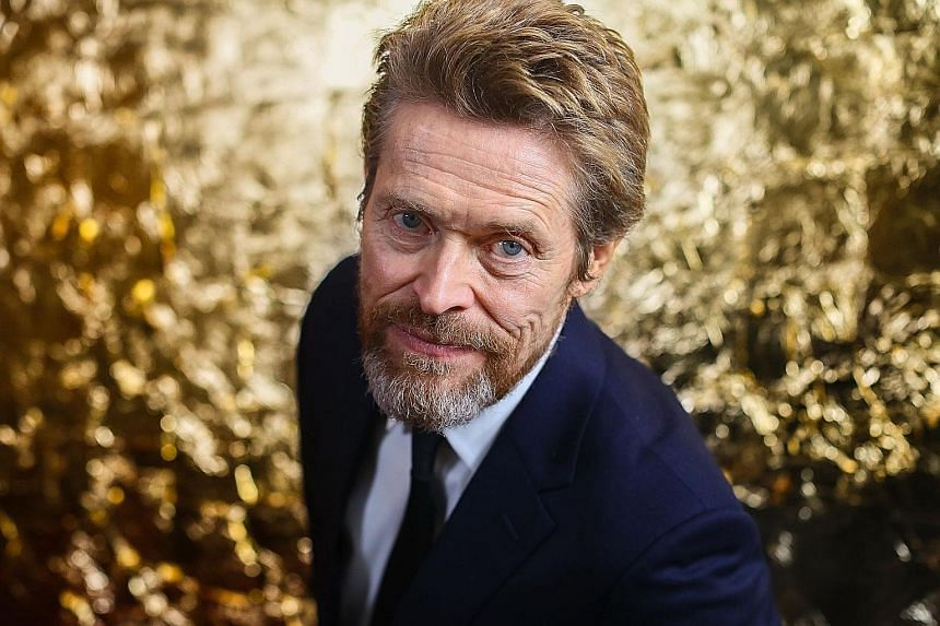 Actor Willem Dafoe is up for a best supporting actor Oscar for his role in The Florida Project.