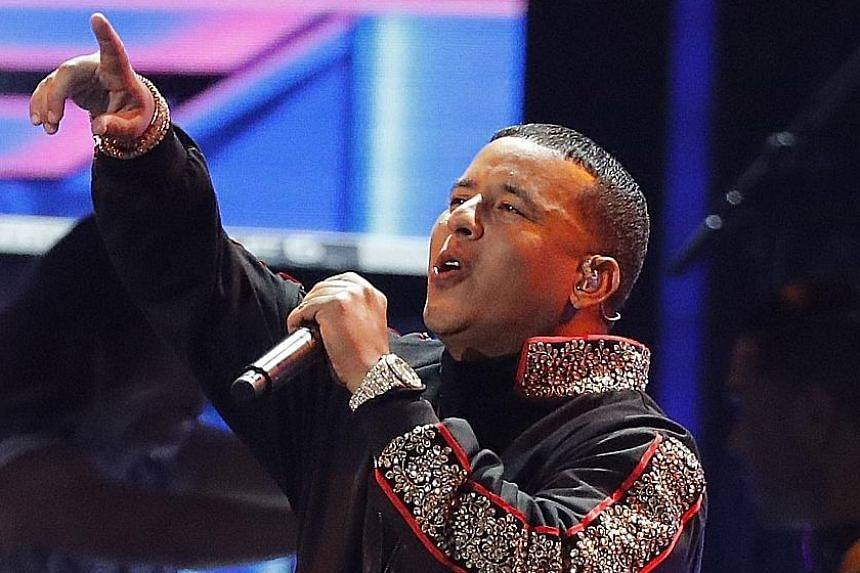 Artist Daddy Yankee (above, at this year's Grammy Awards) is credited for bringing reggaeton - a Latin dance music historically associated with the marginalised Afro-Puerto Rican community - to a global audience.