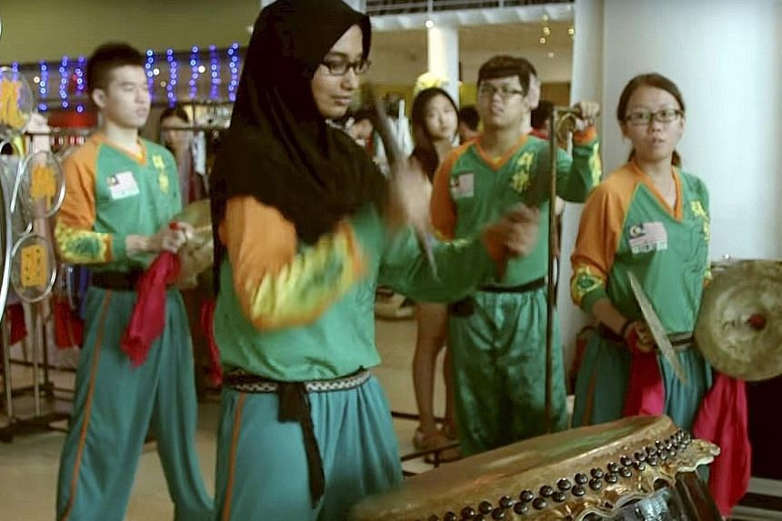 The viral video of Ms Mariam Abdul Nazar playing a drum with her lion dance troupe has come at a time when many fear for Malaysia's inter-racial bonds.