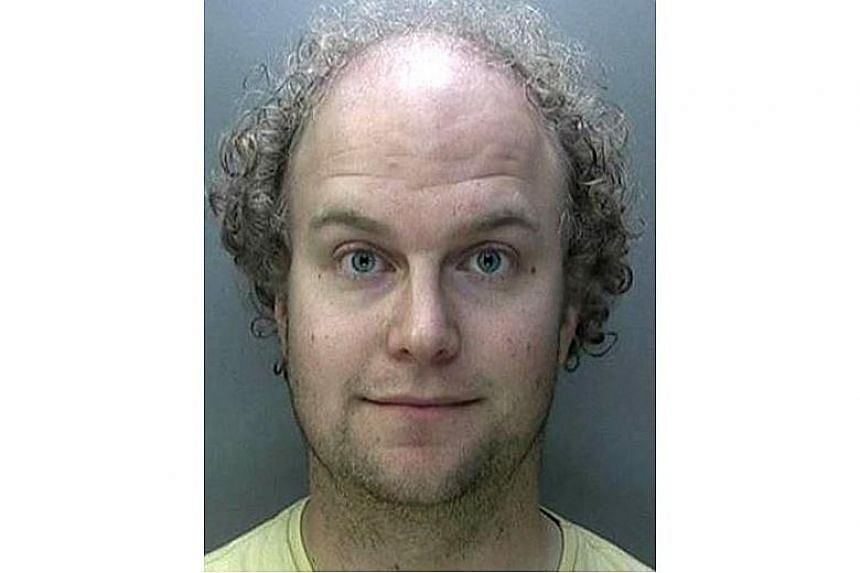 """Matthew Falder (above), who dubbed himself """"666devil"""" and """"evilmind"""" online, blackmailed many of his 45 victims into sending """"severe abuse images"""" of themselves, according to Britain's National Crime Agency."""