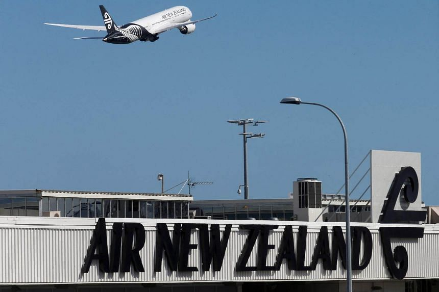 Air New Zealand said it would not reimburse passengers for any costs or penalties like hotels and meals if flight schedules were disrupted.