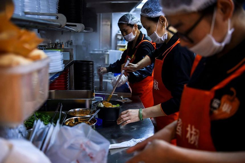China's app-based meal-delivery boom is shrinking restaurants and reducing how often families cook at home.
