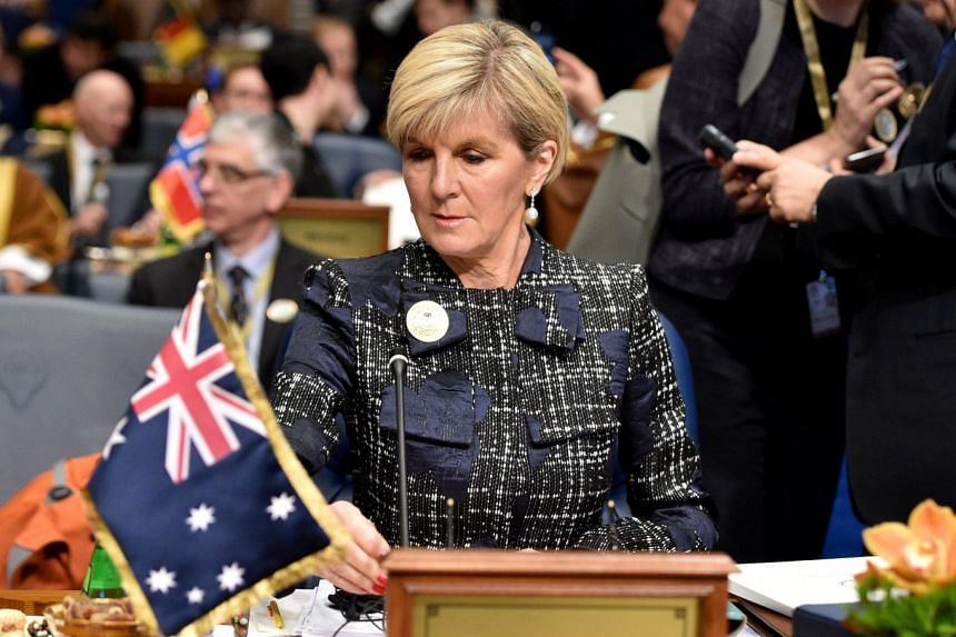 Australian Foreign Minister Julie Bishop said on Feb 19, 2018, that her country would welcome Britain joining the Trans-Pacific Partnership after Brexit.