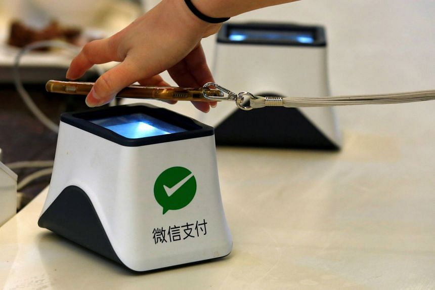 The value of third-party e-payments in China has grown at an annual rate of more than 100 per cent since 2015.