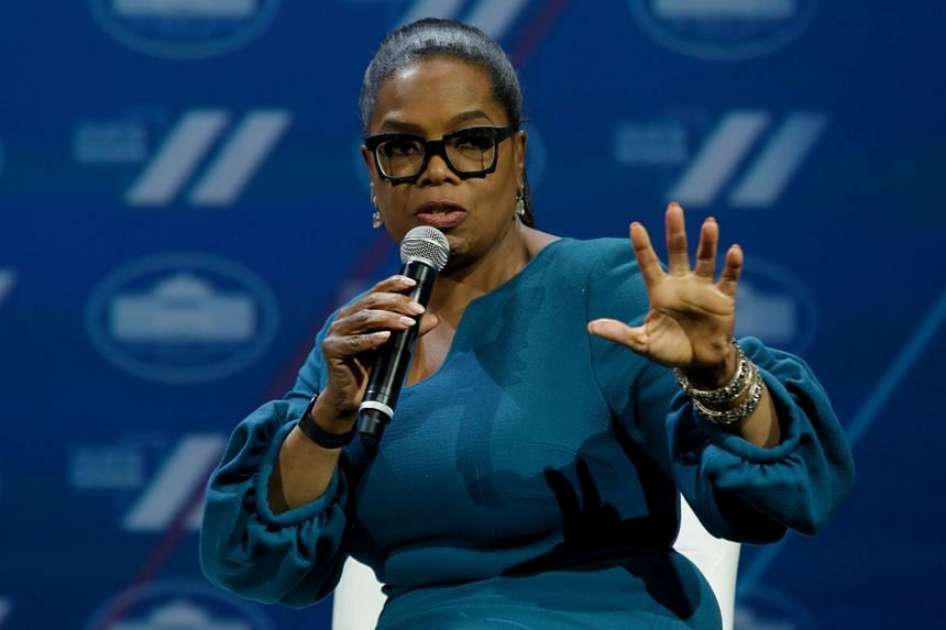 Oprah Winfrey had led a panel of 14 Republican, Democrat and Independent voters in a wide ranging discussion about US President Donald Trump's first year in office.