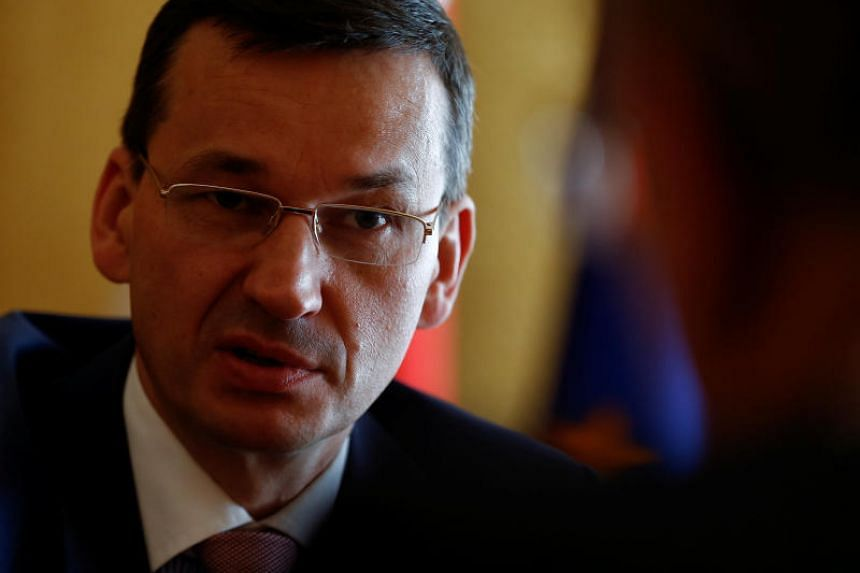 """Polish Prime Minister Mateusz Morawiecki had listed Jews among nations that along with Germans were """"perpetrators"""" of Nazi-era crimes."""