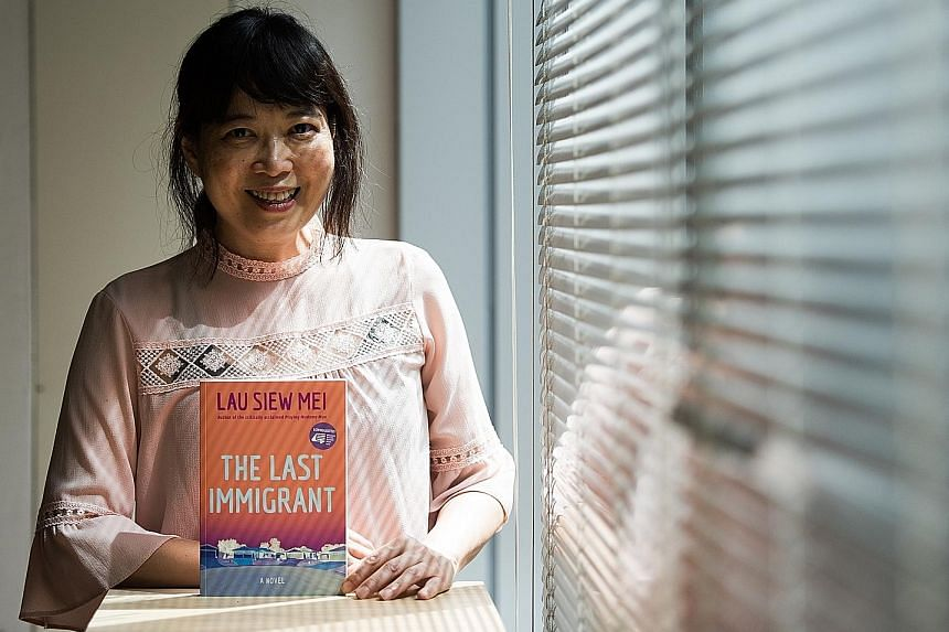 The Last Immigrant is the third novel written by Lau Siew Mei.