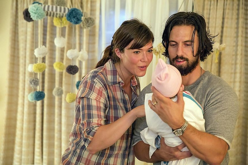 Overall, 44 per cent of the revenue NBC has earned from This Is Us, starring Mandy Moore and Milo Ventimiglia, has come through digital viewership.