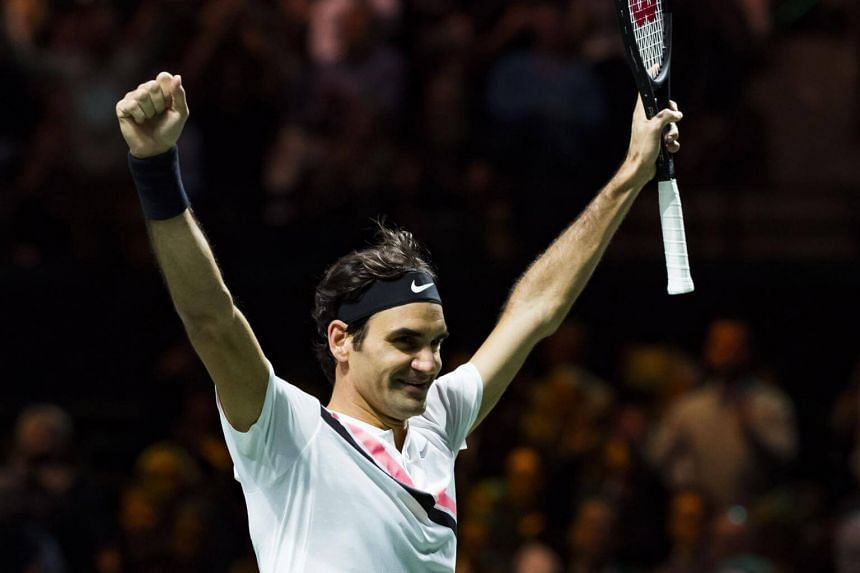 Roger Federer (pictured) claimed his 97th career title by thrashing ailing Bulgarian Grigor Dimitrov 6-2, 6-2, and declared it one of the highlights of his career.
