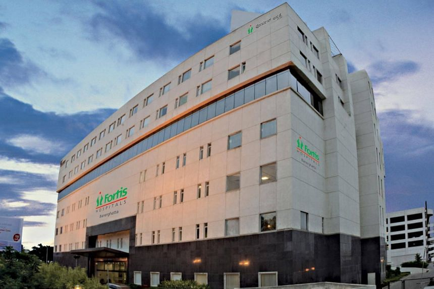 Fortis Healthcare Bannerghatta, one of two hospitals operated and managed by Religare Health Trust.