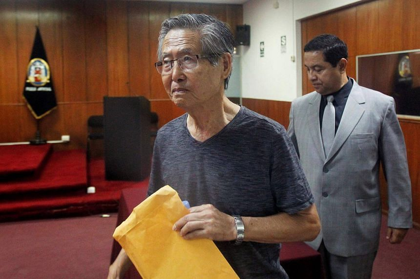Prosecutors asked to try ex-president Alberto Fujimori and 23 others for death squad killings.